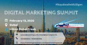 Digital Marketing Summit Dubai 1 | Digital Marketing Community