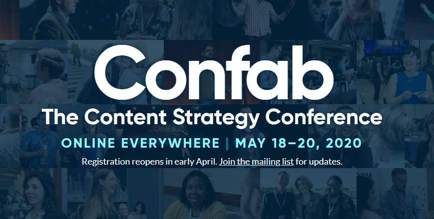 Confab 2020 Event