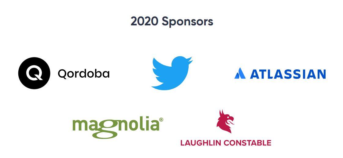Confab 2020 Sponsors