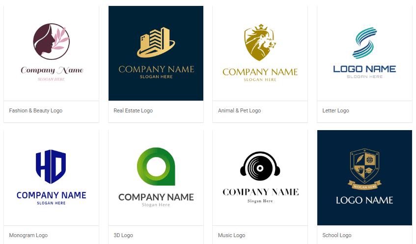 logo template by DesignEvo - free logo design templates