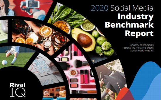 social media benchmarks 2020 - Full Report by Rival IQ