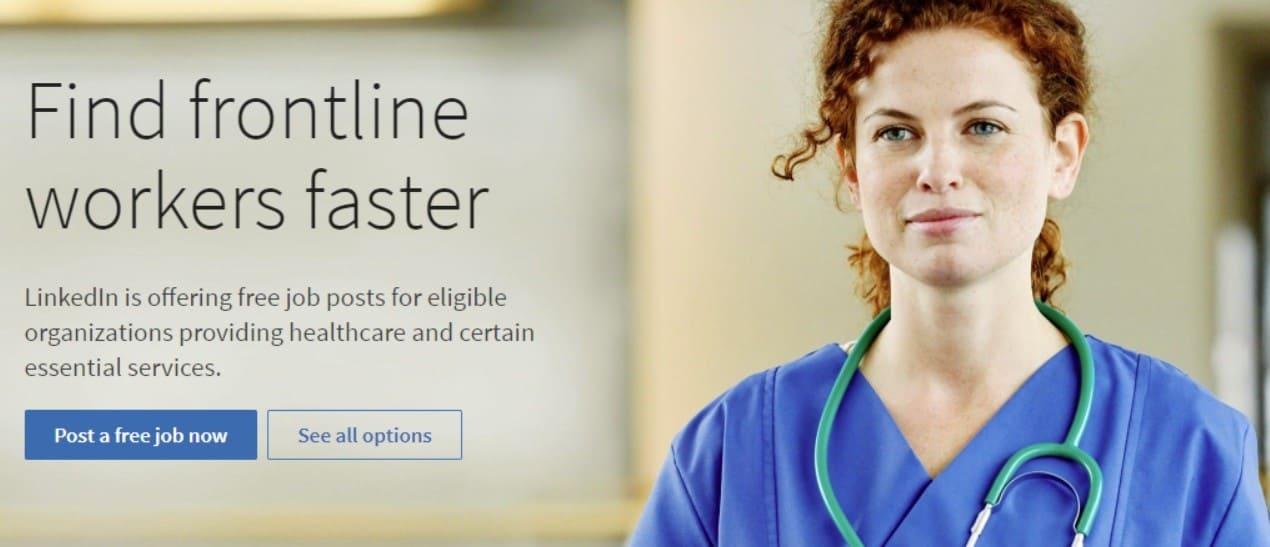 LinkedIn allows free job posts during COVID-19 pandemic   DMC