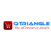 Qtriangle Infotech logo: Top Ecommerce Website Development Company in India