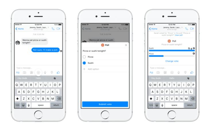 Facebook Announces the Return of Messenger Polls 2020 | DMC