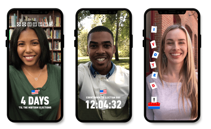 Using Snapchat in the US Election in 2020 | DMC