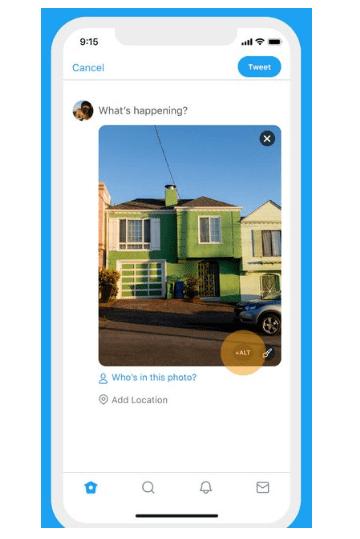 Twitter Alt Text Descriptions for Uploaded Images | DMC