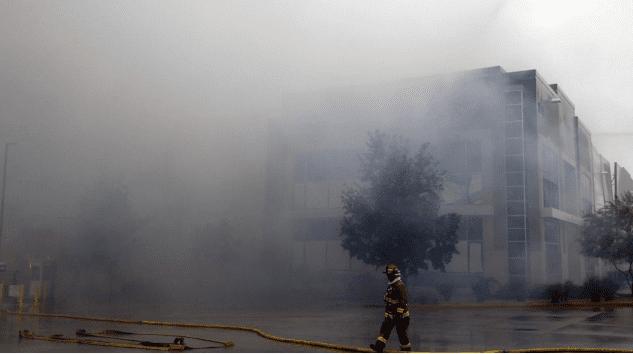 A Massive Amazon Fire in a Warehouse in California | DMC