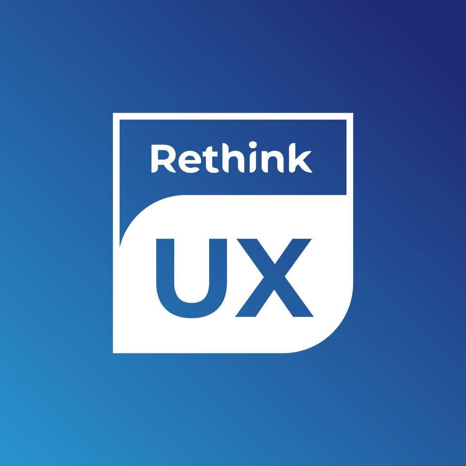 Rethink UX Logo: Digital Marketing and Web Development Agency