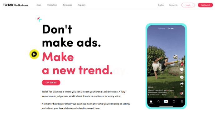 TikTok For Business Platform Is Available for Marketers 2020