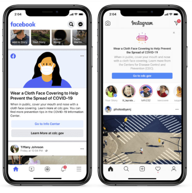 Facebook's New Prompts in The US Amid COVID-19 2020 | DMC