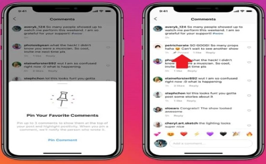 All Instagram Users Are Able to Pin Post Comments 2020 | DMC