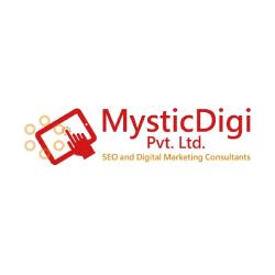 MysticDigi Logo: SEO Company in New Delhi, India
