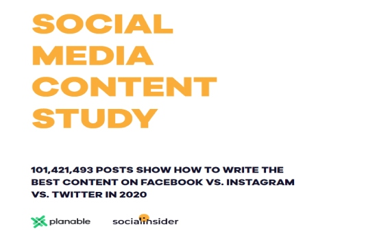 Social Media Content Study | Socialinsider 1 | Digital Marketing Community