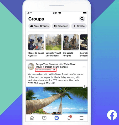 New Sponsored Post Options for Groups From Facebook | DMC
