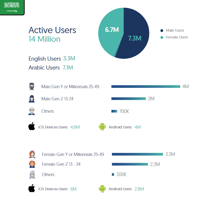 Twitter Insights and Usage in KSA, 2020 | DMC