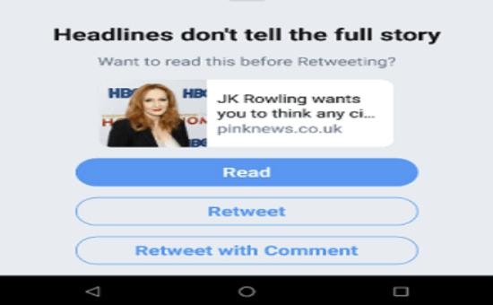 Check The New Twitter's Pop-up Alert 2020   DMC