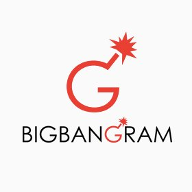 Bigbangram Logo: Instagram marketing software, Instagram promotion tool