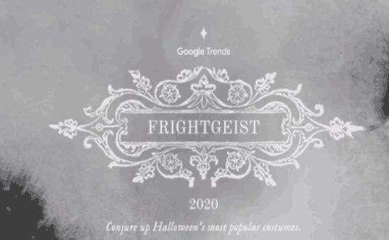 The Halloween Costume Trends: Google Frightgeist 2020 | DMC