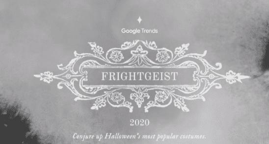 The Halloween Costume Trends: Google Frightgeist 2020 | DMC