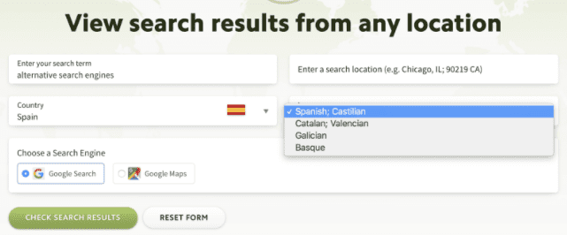 Local Search Results Checker: Google Results Checker | DMC