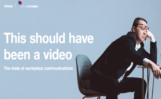 The Ultimate Video Role in Workplaces Report in 2020 | DMC