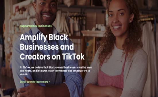 Check TikTok's New Hub for Black Business Owners | DMC