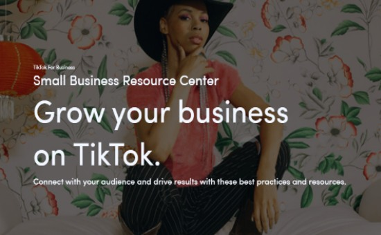 Check TikTok Small Business Resource Center in 2020 | DMC