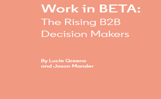 Work in BETA: The B2B Decision-Maker | DMC