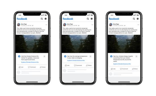 Facebook's Climate Science Information Center Updates | DMC