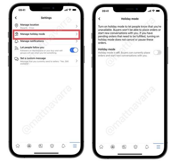 Facebook Adds 'Holiday Mode' Option to Marketplace 1 | Digital Marketing Community