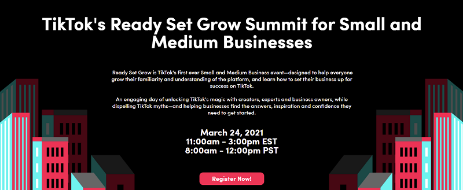 Check Out TikTok Summit for SMBS In 2021 | DMC