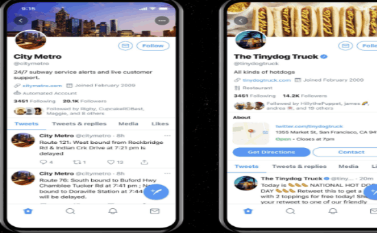 Twitter's Business Profiles Potential Features in 2021 | DMC
