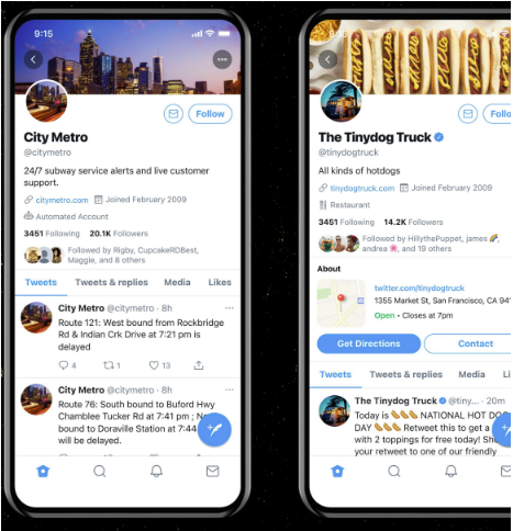 Twitter Previews Potential New Business Account Features as it Seeks Feedback on the Following Stage 2 | Digital Marketing Community