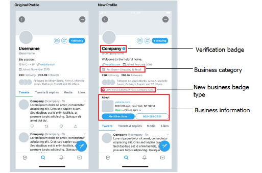 Twitter Previews Potential New Business Account Features as it Seeks Feedback on the Following Stage 1   Digital Marketing Community