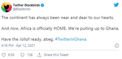 Twitter's Global Footprint: Twitter's Branch in Ghana | DMC