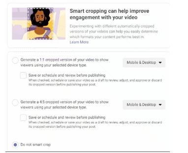 "Check Facebook's ""Smart Crop"" Feature in Creator Studio  DMC"