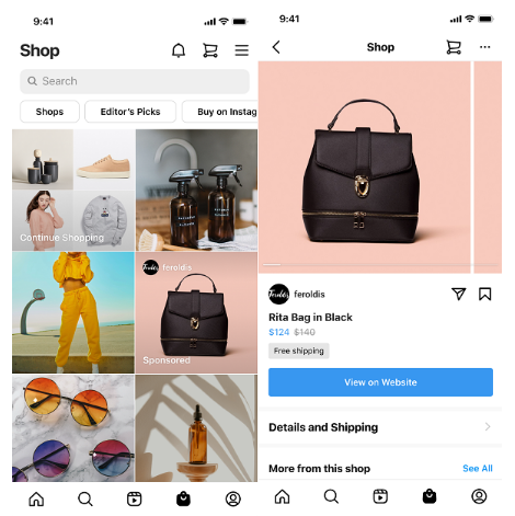 Check Instagram's Promoted Products Option in 2021 | DMC