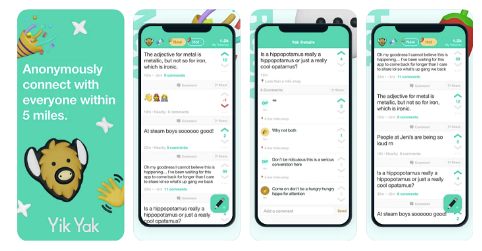 Four Years After Being Shuttered, YikYak Makes a Comeback 1   Digital Marketing Community